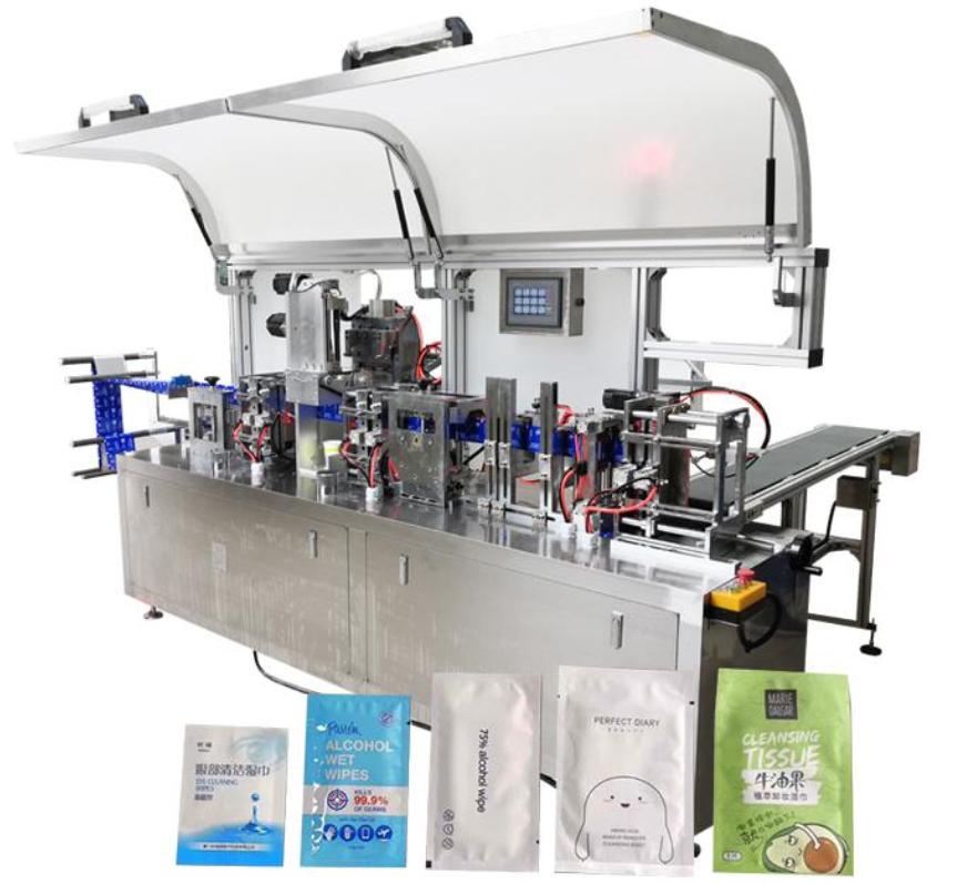 Máy sản xuất khăn lạnh tự động SY250