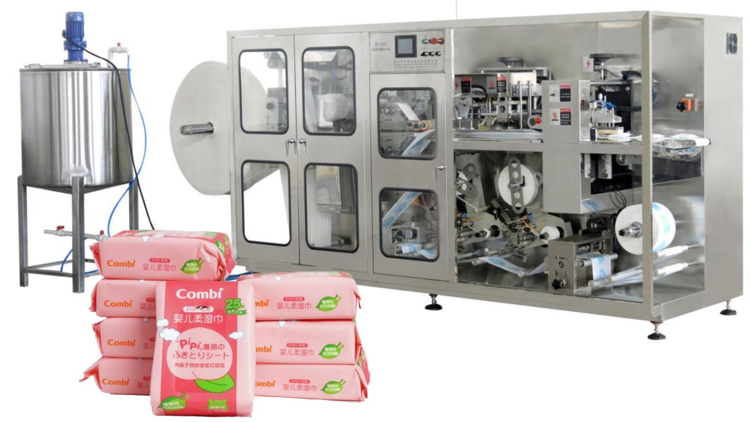 Máy sản xuất khăn lạnh SY535
