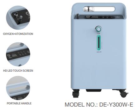 Máy tạo Oxy Dedakj 1-3 Lít DE-Y300W-E