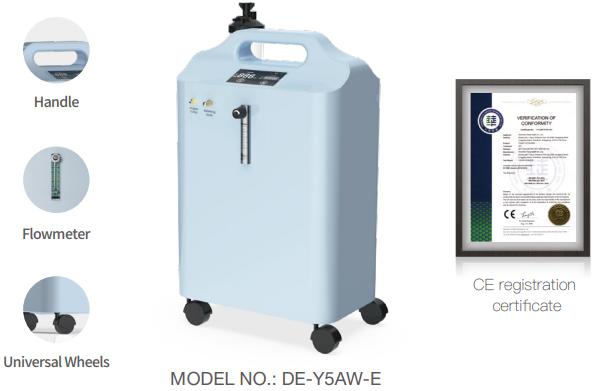 Máy tạo oxy 6 lít Dedakj DE-Y5AW-E