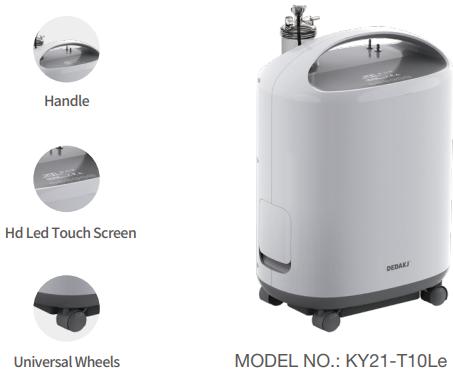 Máy thở, máy tạo oxy Dedakj KY21-T10Le (1-10L)
