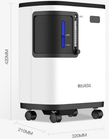 Máy tạo oxy y tế DEDAKJ máy oxy độ tinh khiết cao