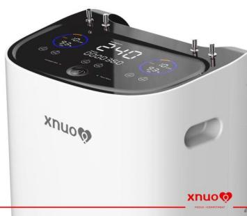 Máy thở, máy tạo oxygen 15L Xnuo S35 BREATH AI