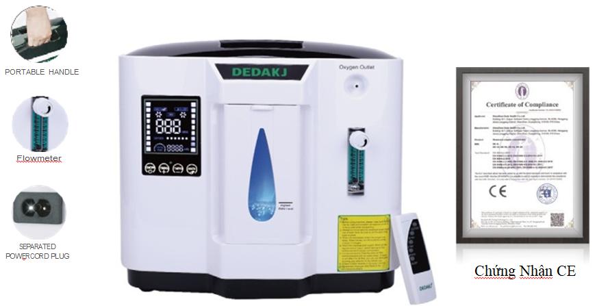 Máy tạo Oxygen Dedakj DE-1A-E